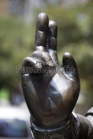 hands in busan