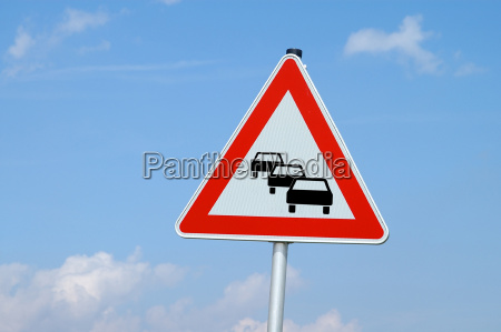 caution congestion