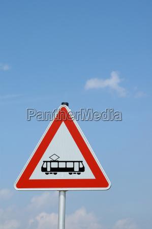 strassenbahn caution