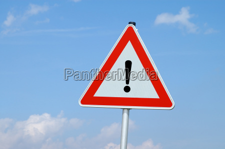 attention danger spot