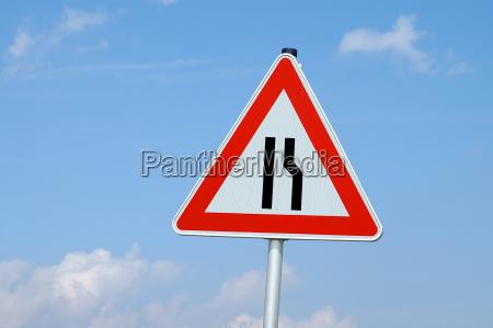 respect roadway narrowing
