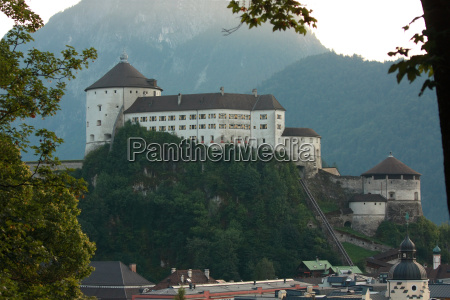 kufstein fortress from calvary