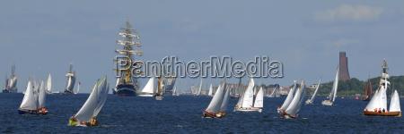segeln auf der kieler foerde