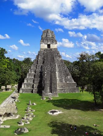 jaguar tempel in tikal