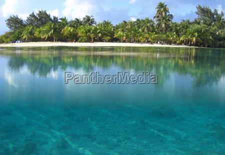 atoll in der karibik