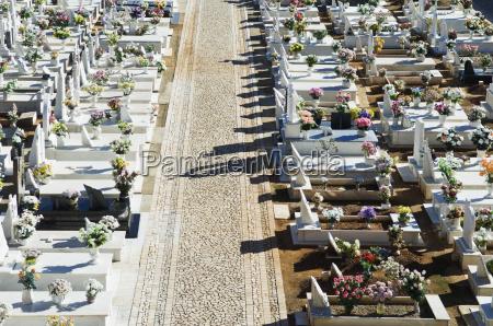 katholischen friedhof in alentejo portugal
