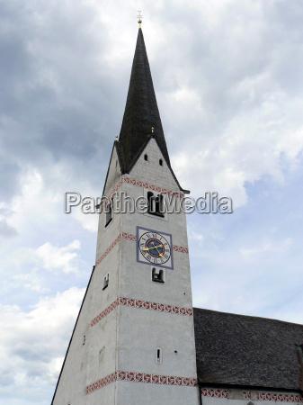chiesa vecchio campanile cattolico chiesa parrocchiale