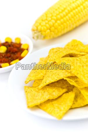 tortilla chips mit mais