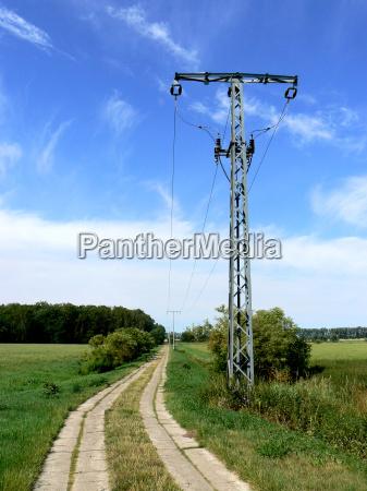 pilone elettrico pilone linea ad alta