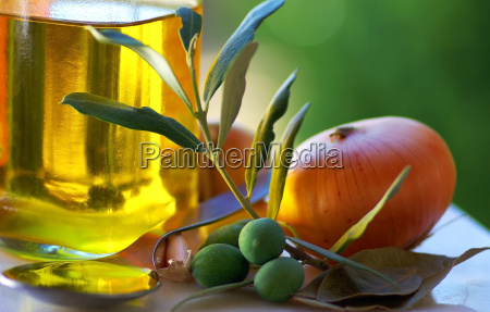 oliveoil and food ingredients