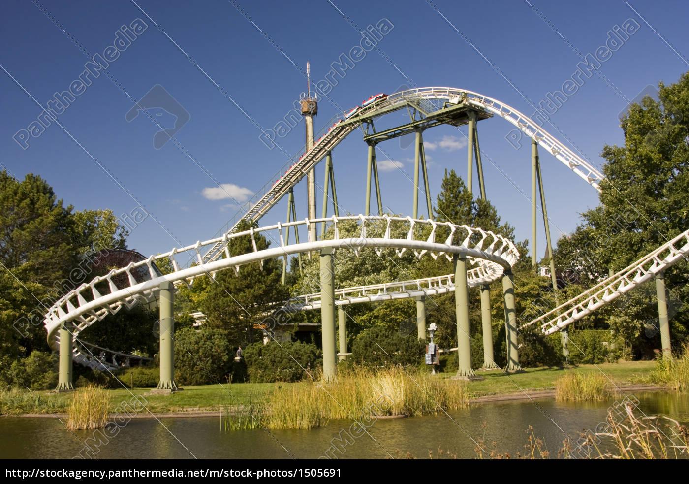 Achterbahn Big Loop Im Heidepark Soltau Stockfoto 1505691
