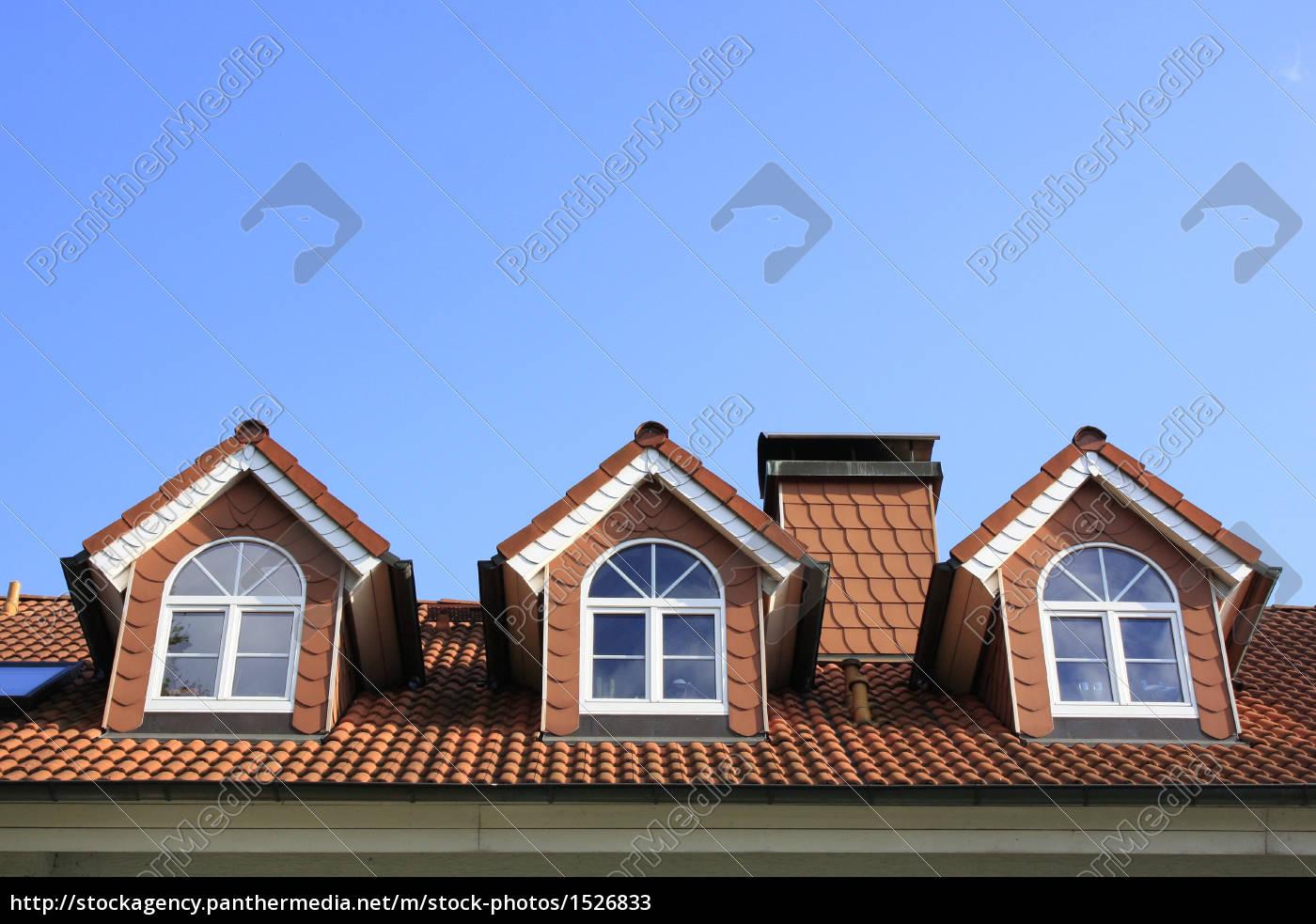 drei, dachfenster - 1526833