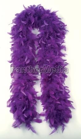 vogel lila zubehoer accessoire purpur flaumfeder