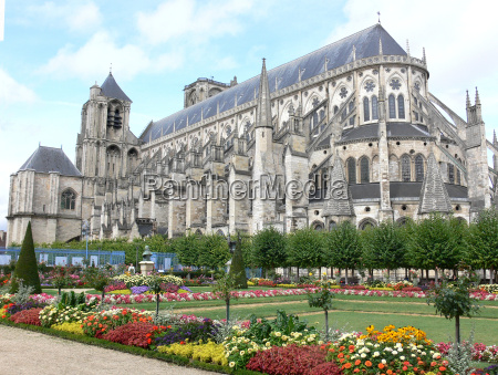 kathedrale st etienne in bourges frankreich