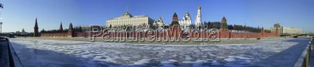 moskau kreml panorama