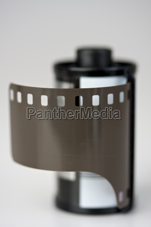 detail einer 35 mm film patrone