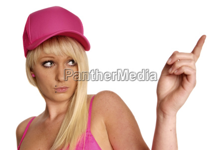 woman with cap