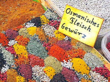 osmanisches fleisch gewuerz