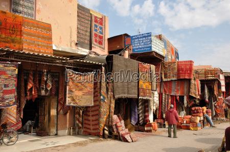 berberteppiche in marrakesch
