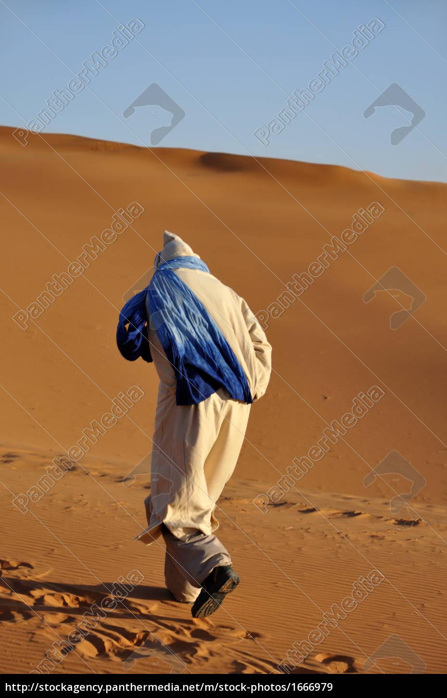 beduin, in, der, sahara, , marokko - 1666979
