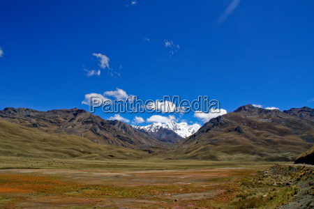 andean highlands in peru