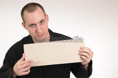 man show the logo sign