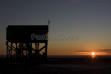 stpeter ording in the evening