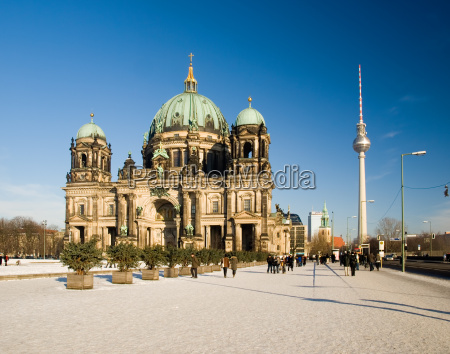 berliner dom winter