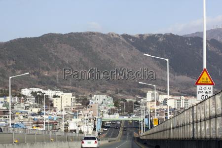 hochstrasse in jinhae