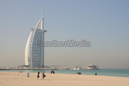 jumeirah beach und hotel burj al