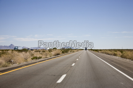 interstate 10 arizona usa new mexiko