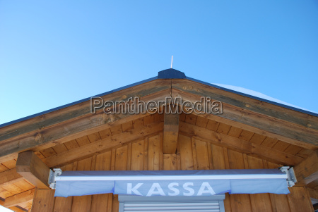 kassa checkout cottage in austria