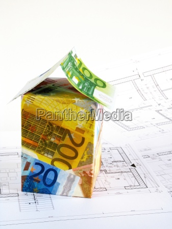 euro money house plans
