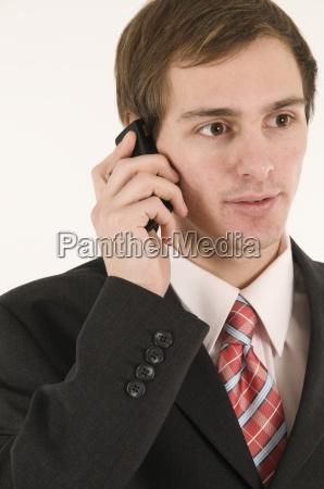 listen person business man businessman neutral