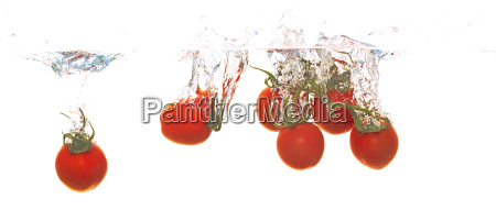 tomate ins wasser werfen
