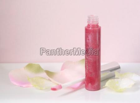 rosa lipgloss