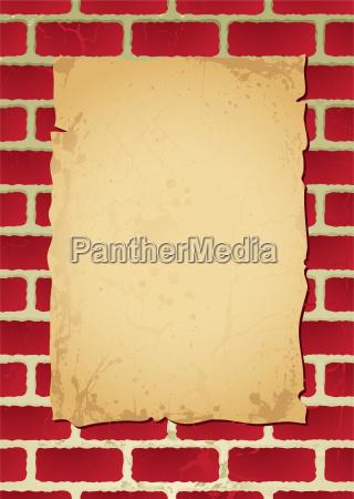 brickpostrunc wallposheadcomp pergament