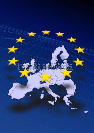 europa europakarte