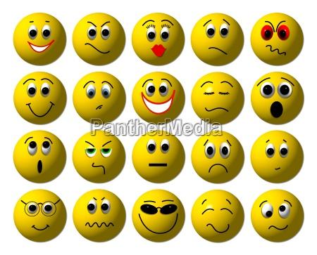 smileys gefuehle