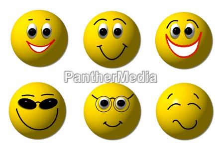 smileys gluecklich