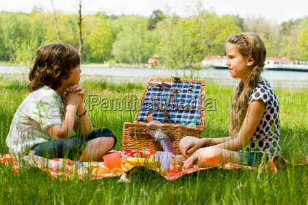 picnic and waiting