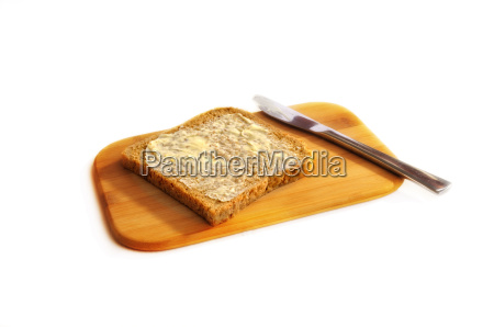 wholemeal toast with butter