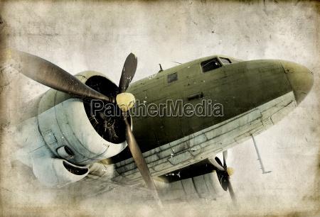 altes propeller airplain