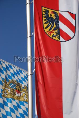 nürnberg, bayern, fahne - 2013439