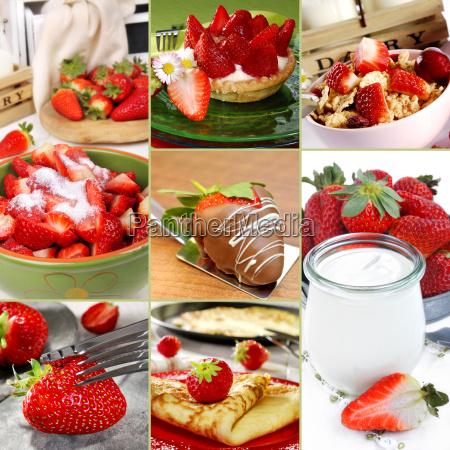 strawberries variations