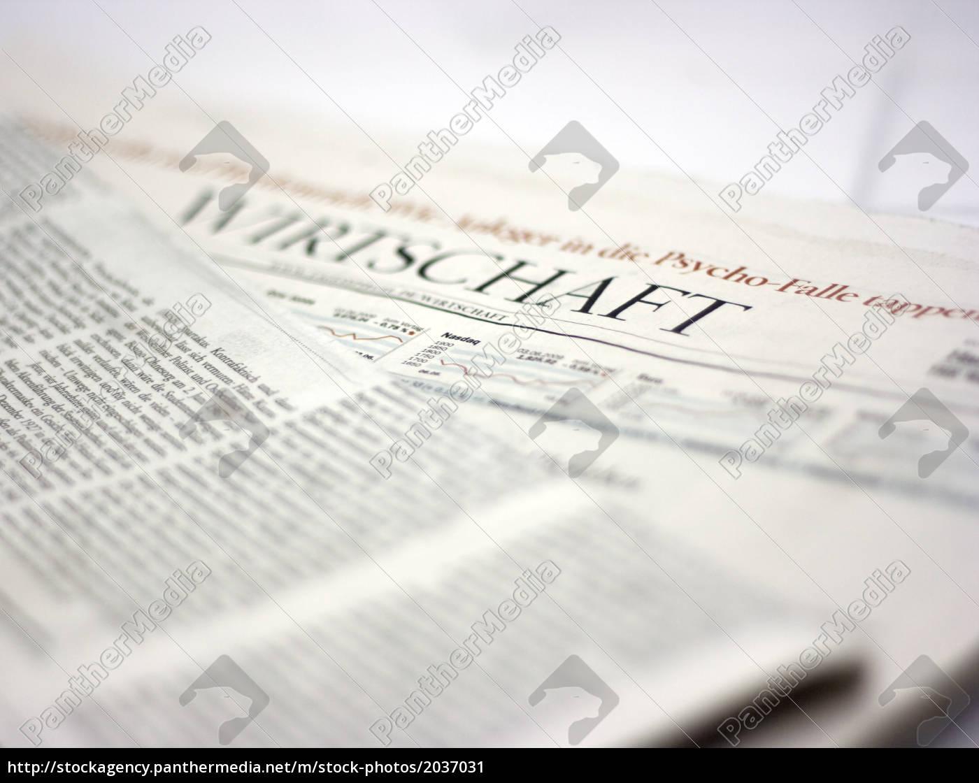 Zeitung Wirtschaft