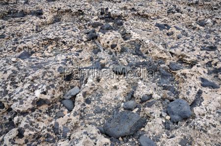 volcanic soil in fuerteventura