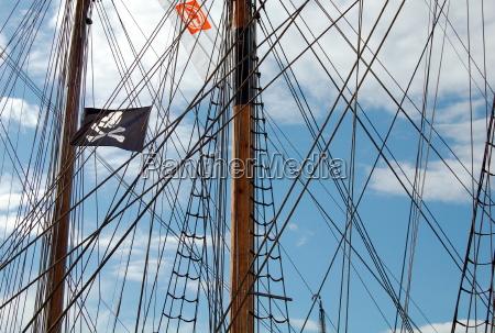 segelnde piraten