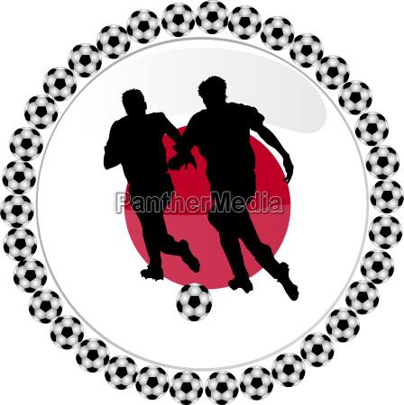 fussball button japan