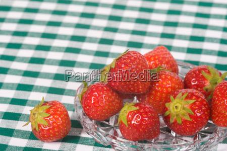 strawberry dish